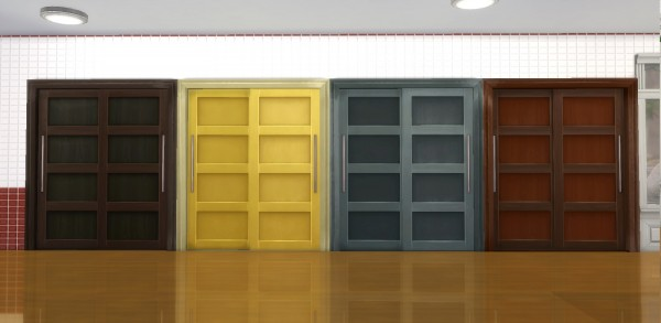 Mod The Sims: The Closet Sliding Doors by AdonisPluto