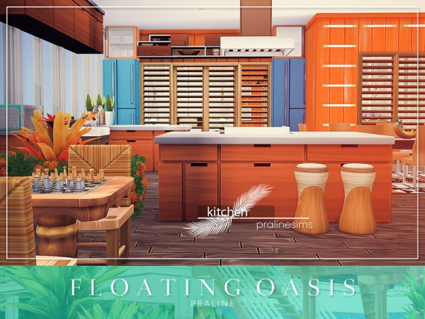 The Sims Resource: Floating Oasis by Pralinesims