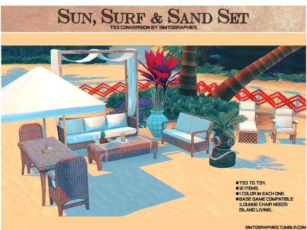 Simtographies: Sun, Surf and Sand Set