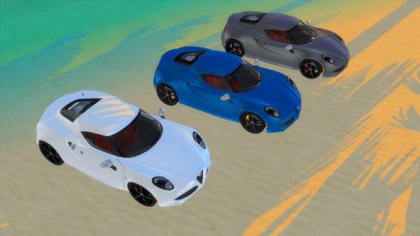 Lory Sims: Alfa Romeo 4C U.S. Specs