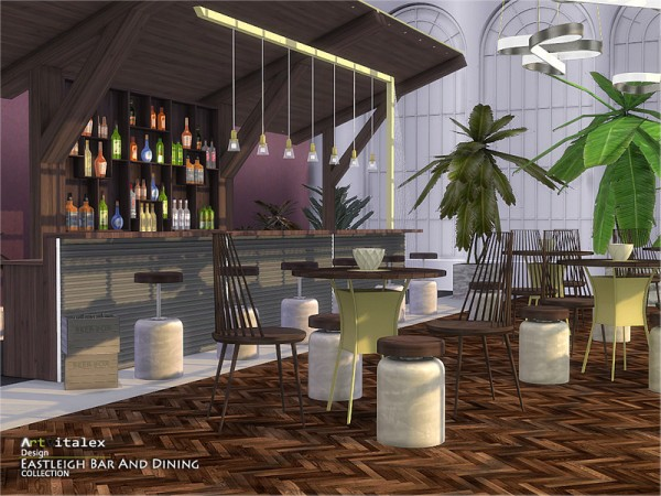 The Sims Resource: Eastleigh Bar And Dining by ArtVitalex
