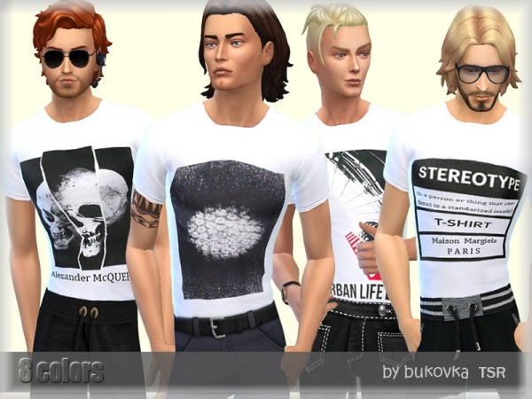 The Sims Resource: White Shirt by bukovka
