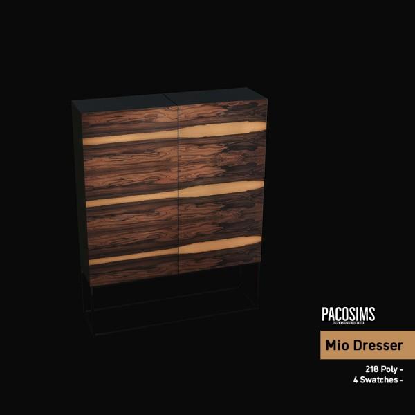 Paco Sims: Mio Dresser
