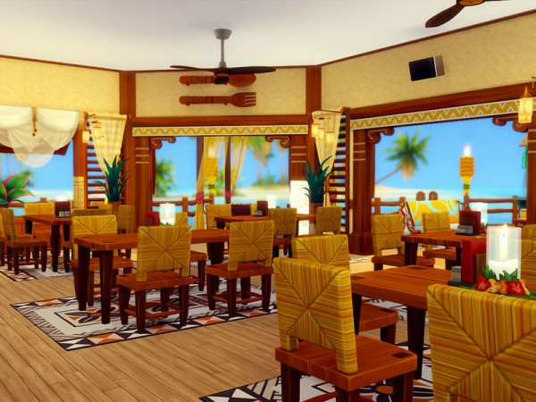 The Sims Resource: Sulani Restaurant   No cc by sharon337