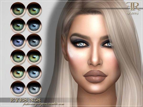 The Sims Resource: Eyes N58 by FashionRoyaltySims