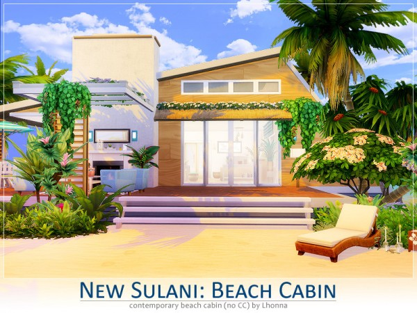 The Sims Resource: New Sulani: Beach Cabin by Lhonna