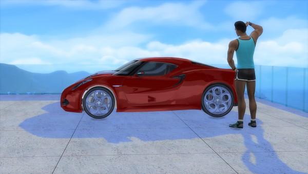 Lory Sims: Alfa Romeo 4C Concept