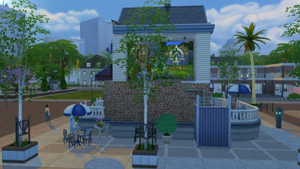 Mod The Sims: Red Roast Cafe CC Free by kiimy 2 Sweet