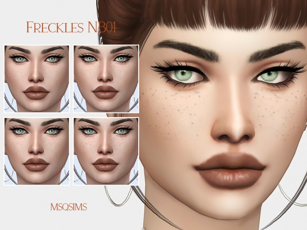 MSQ Sims: Freckles NB01