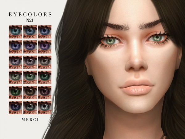 The Sims Resource: Eyecolors N21 by Merci