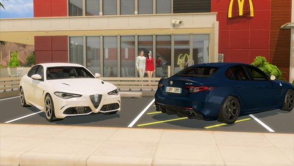 Lory Sims: Alfa Romeo Giulia Quadrifoglio