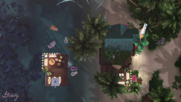 Gravy Sims: Ocean Bar