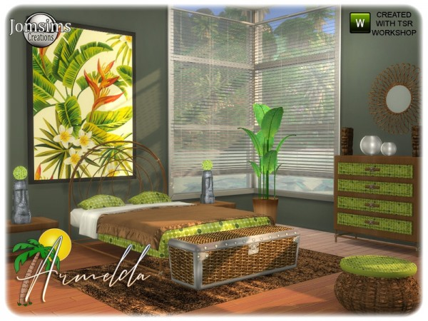 The Sims Resource: Armelda bedroom by jomsims