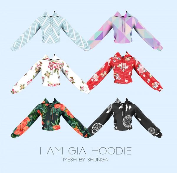 Kenzar Sims: I am Gia hoodie