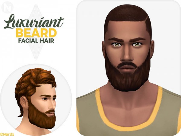 The Sims Resource: Luxuriant Beard by Nords