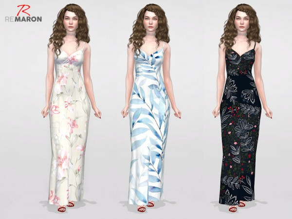 The Sims Resource: Dress Floral for women by remaron
