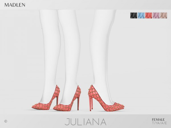The Sims Resource: Madlen Juliana Shoes by MJ95
