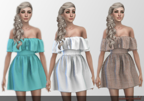 Paulo Paulol Sims: Summer dress