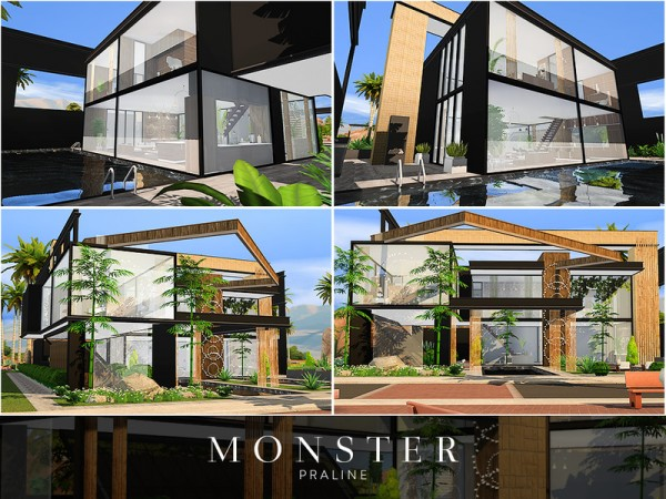 The Sims Resource: Monster House by Pralinesims