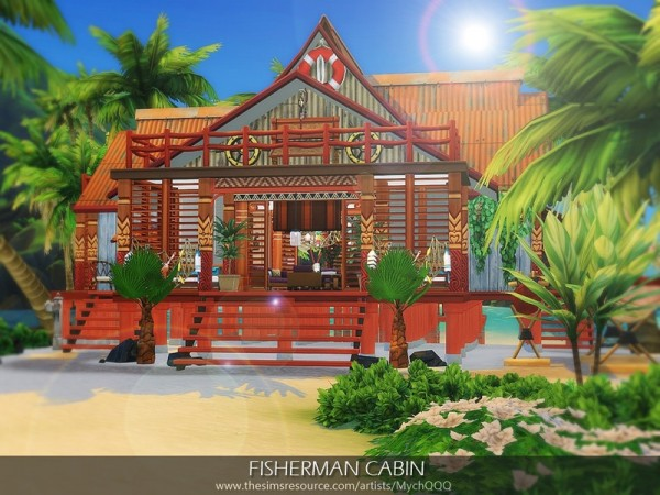 The Sims Resource: Fisherman Cabin by MychQQQ