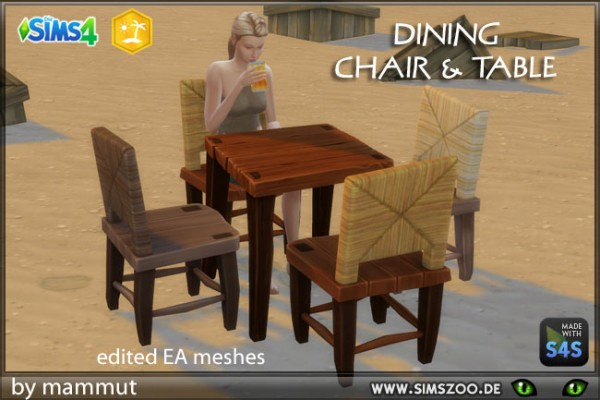 Blackys Sims 4 Zoo: Noobs Dining by mammut