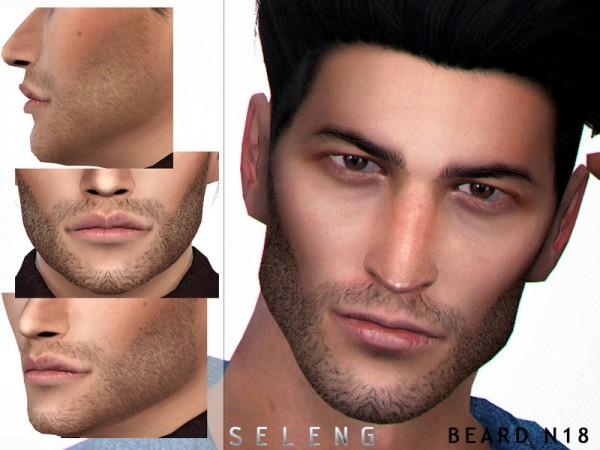 The Sims Resource: Beard N18 by Seleng