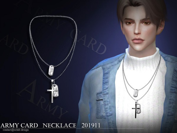 The Sims Resource: Necklace 201911 by S Club