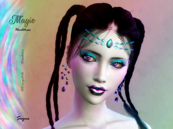 The Sims Resource: Magie Headdress by Suzue