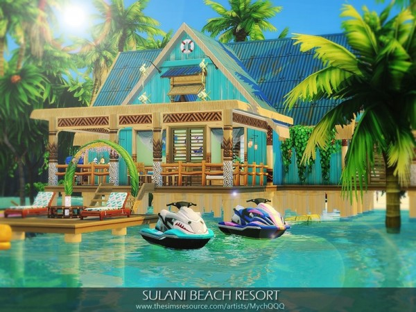 The Sims Resource Sulani Beach Resort By Mychqqq Sims 4