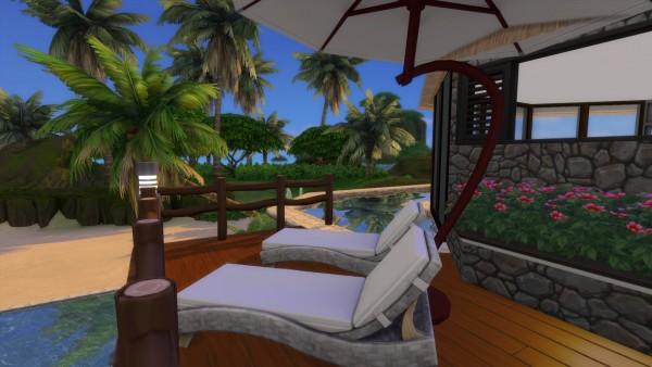 Luniversims: Beach House Fiji Island Hotel Resort by maudhuy