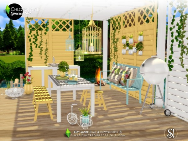 The Sims Resource: Chlorophyll   Dining area by SIMcredible!