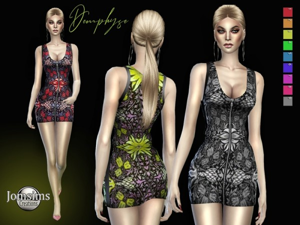 The Sims Resource: Demphyse dress by jomsims