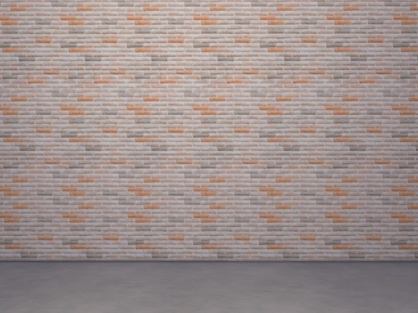 The Sims Resource: Brick walls by LeaIllai