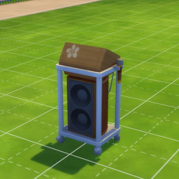 Mod The Sims: The Low Key Karaoke Machine for Island Living by yaohui