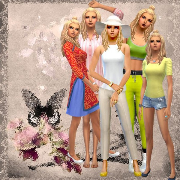 Luniversims: Sweet Sims models
