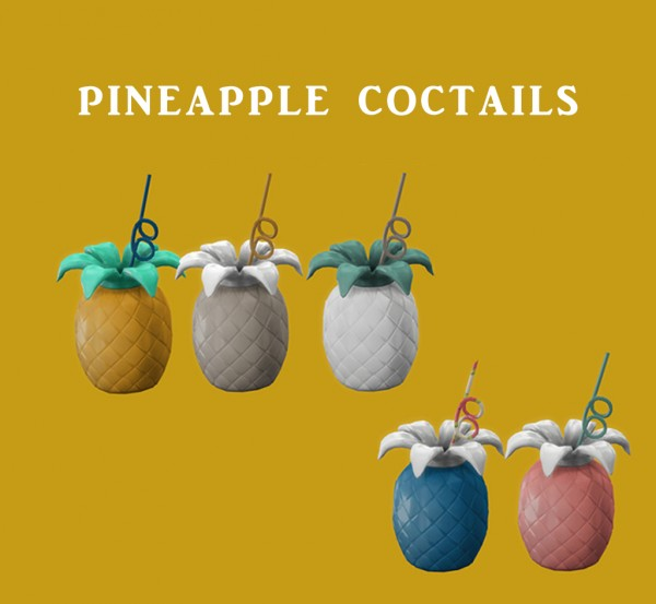Leo 4 Sims: Pineapple Coctails