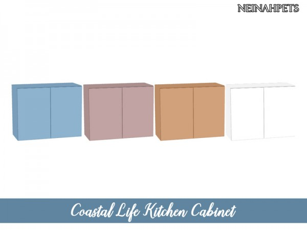 The Sims Resource: Coastal Life Kitchen Pt I by neinahpets