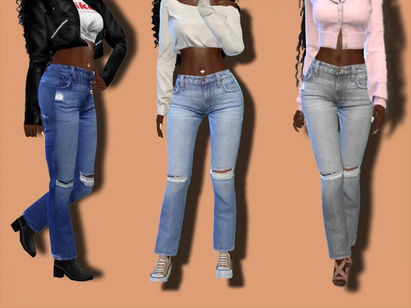 The Sims Resource: Design Bluejeans by Teenageeaglerunner