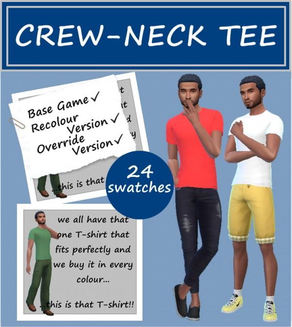 Sims 4 Sue: Crew Neck Tee