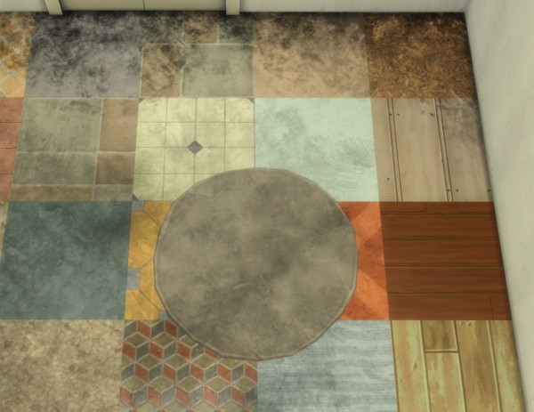 Mod The Sims: The Dirt! On all of your floors! by Velouriah