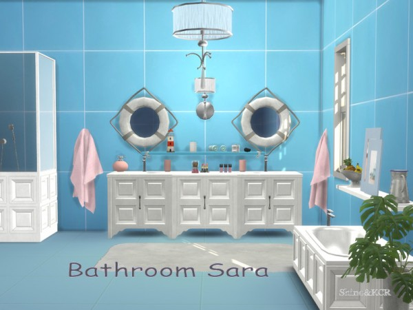 The Sims Resource: Bathroom Sara by ShinoKCR