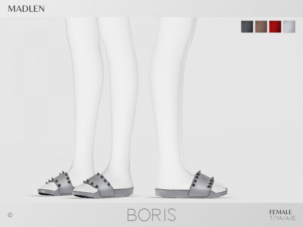The Sims Resource: Madlen Boris Shoes by MJ95