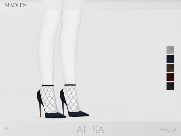 The Sims Resource: Madlen Ailsa Shoes by MJ95