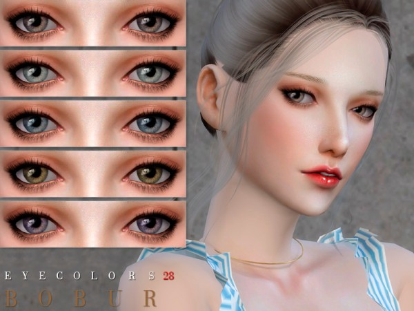 The Sims Resource: Eyecolors 28 by bobur