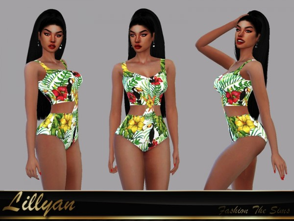The Sims Resource: Swimsuit Safira by LYLLYAN