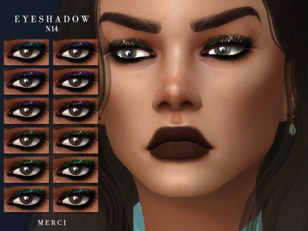 The Sims Resource: Eyeshadow N14 by Merci