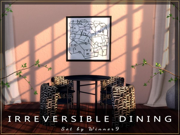 The Sims Resource: Irreversible Dining by Winner9