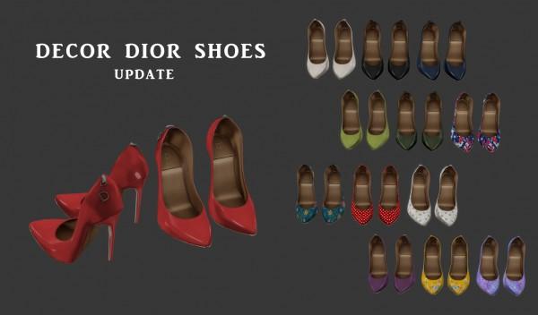 Leo 4 Sims: Decor Shoes