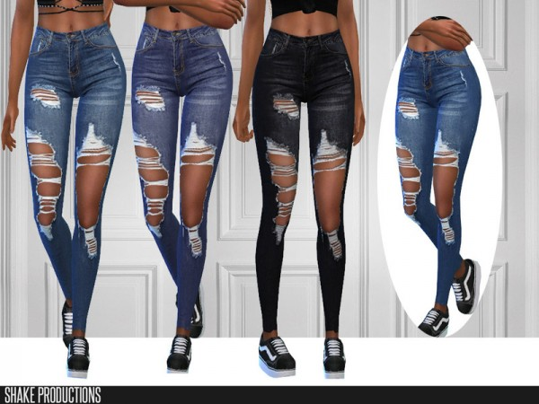 The Sims Resource: 294 Set Jeans by ShakeProductions