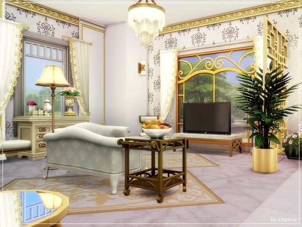 The Sims Resource: Gold In Town House by Lhonna